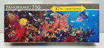Panoramic 750 Pc Fish Swimming Over Coral Reef