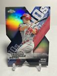 MIKE TROUT 2020 Topps Chrome Wins Above Replacement Die Cut Insert DOD 1 ANGELS