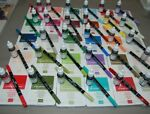 STAMPIN UP New Style Classic Ink Foam Pads w Matching Ink Refills amp; Markers Used