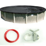 Round Deluxe Reversible Above Ground Swimming Pool Winter Cover Various Sizes