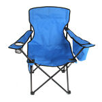 Camping folding Beach Chair for child Outdoor Fishing Chair with Litter Caddie