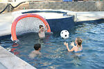 Swimming Pool Pro Shot Soccer Game Lake Water Sports Party Play Goal Summer Fun
