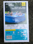 Summer Waves Pool - 12 ft x 30 in Quick Set Pool + Filter Pump - USA SELLER