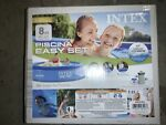 Intex Swimming Pool 8#x27; x 24quot; Easy Set Inflatable with Filter Blue new