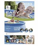 """Intex Pool 8#x27; ft X 30"""" in Easy Set. Brand New. Ready To Ship"""