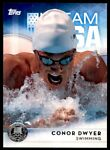 2016 TOPPS US OLYMPIC TEAM SILVER CONOR DWYER SWIMMING #24
