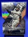 2020 Toops Willie Mays X Cut Insert DOD 2 Wins Above Replacement