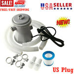 US plug Electric Swimming Pool Filter Pump For Above Ground Pools Cleaning Tool