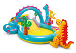 INTEX PLAY CENTER - DINOLAND Inflatable Kids Swimming Pool wSLIDE - Open Box