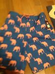Airwalk Mens Med Small Swimming Trunks Stretch Pink Elephants $42 Retail NWT