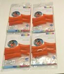 4 Pairs NEW INTEX Swim Arm Bands Swimming Safety Orange Arm Bands for 3 6 years