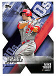 2020 Topps Mike Trout Wins Above Replacement BLUE insert card Angels