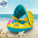 Baby Kids Summer Swimming Pool Inflatable Swim Float Water Fun Pool Toy Boat