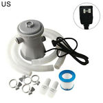 300Gallon Electric Swimming Pool Filter Pump for Above Ground Pool Cleaning Tool