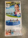 NEW Intex 12 x 30 Metal Frame Set Round Swimming Pool wFilter Pump SHIPS FAST
