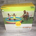 NEW Inflatable Baby Swimming Play Pool Sun Squad Baby Pool Kid Toy 5ft 📫‼️
