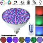 12V 35W LED Underwater Swimming Pool Light Fountain Spa Lamp RGB ColorsRemote