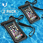 2* Floating Swimming Underwater Waterproof Cell Phone Dry Bag Pouch Case Cover