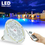 40W RGB LED Swimming Pool Light Bulb 12V Color Changing LED With Remote Control