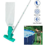 Portable Swimming Pool Vacuum Head Cleaner Brush Cleaning Tool Spa Suction