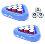 Pool Beer Pong Game Swimming Inflatable Party Beach Floating Adult Drink Fun