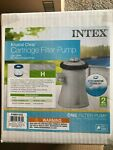 Intex Krystal Clear Cartridge Filter Pump 330 Gph w GFCI  Model 28601EG Pool lh