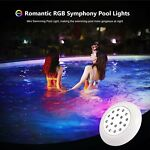 RGB LED Color Changing Underwater Swimming Inground Pool Light Bulb Waterproof