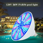LED Color Changing Swimming Pool Light Bulb AC120V 40W with Remote Control New