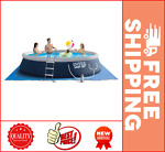 Intex 15#x27; x 42quot; Easy Set Inflatable Above Ground Swimming Pool with Ladder Pump