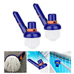 1 Pieces Nylon Corner amp; Cleaning Brush Head Above Swimming Pool Spa Tub