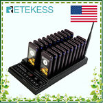 RetekessT112 Restaurant Swimming pool Wireless Pager System 20Call Pagers 433MHz