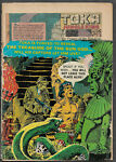 TOKA JUNGLE KING #5 of 10 published by Dell 1965 VERY CHEAP Cover damage.
