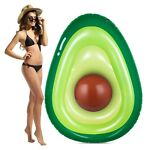 Obuby Inflatable Avocado Pool Float Floatie with Ball Fun Pool Floats Floatie...