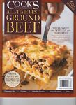 COOK#x27;S ILLUSTRATED ALL TIME BEST GROUND BEEF RECIPES AMERICAS TEST KITCHEN 2020