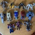Lot Of 12 Transformers First Movie Optimus Prime Megatron