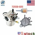 Carburetor with Fuel Pump amp; Filter for EZGO TXT Golf Carts 295cc EZ GO 1991 UP