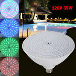 7 Color Change Led Swimming Pool Light Bulb 120V 35W Fit Pentair Hayward Fixture