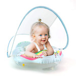 Lightaling Unicorn Baby Swimming Floats for Toddlers Inflatable Baby Pool Ring