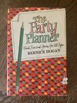 Party Planner: Food Fun amp; Games for All Ages by Bernice Hogan c1967 Good HC