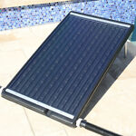 Flat Panel Solar Heater Pool for In Ground or Above Swimming Pool Adjustable Leg