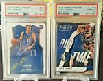 2018 19 Panini Threads Luka Doncic Lot of 2 1 #15 and 1 #141 PSA 10 RC