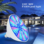 40W 120V Color Changing LED Swimming Pool Light Bulb RGB with Remote Control