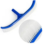 18quot; Curved in ground above Swimming Pool Spa Nylon Wall amp; Floor Brush Blue PVC