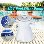110-120V Cartridge Filter Pump for Swimming Pools Above Ground Pools Tool Filter