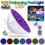 Color Change RGB LED Swimming Pool Light Bulb 120V 45W Remote For Pentair IP68