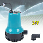 Agricultural Irrigation Water Removal Pump Electric Pumps 24V Submersible Blue