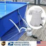 Electric Swimming Pool Filter Water Cleaning Tool Above Ground Pool Filter Pump