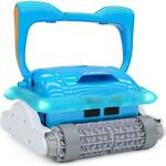 Portable Swimming Pool Robotic Automatic Vacuum Cleaner Climbs Wall Wonderfully