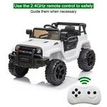 Electric 12V Kids Battery Ride On Car Toy Wheel Music w Remote Control BLACK