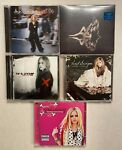 5 Avril Lavigne CDs Head Above Water Sealed Goodbye Lullaby Let Go More
